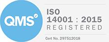 QMS ISO 14001 Registered